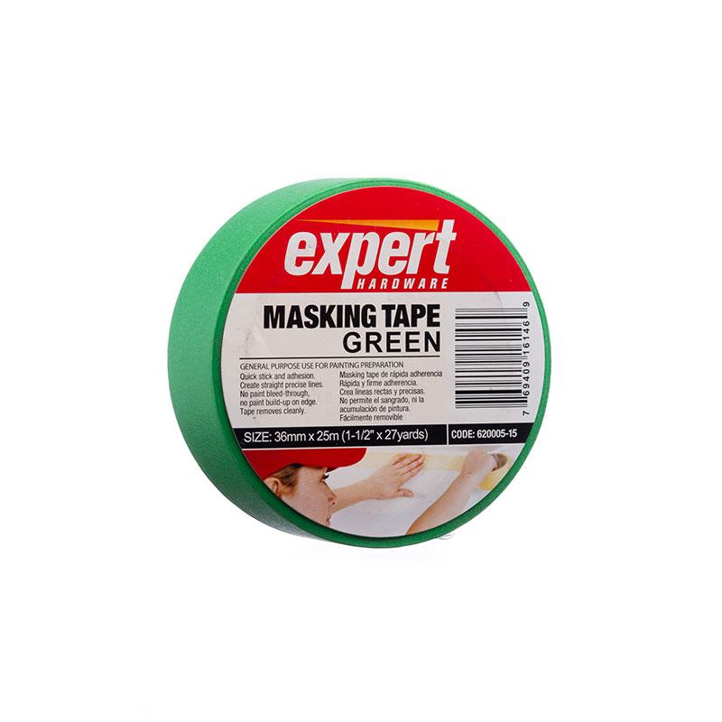 Masking Tape Verde Expert 36 mm x 25 m